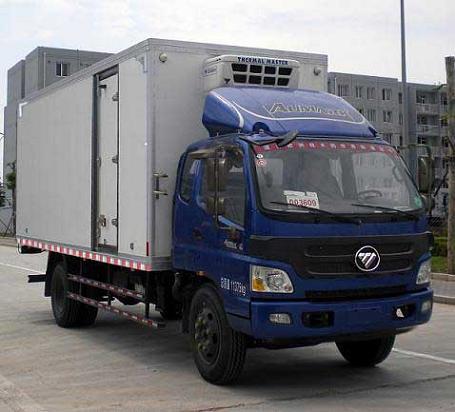 福田欧玛可冷藏车-厢长6.1米