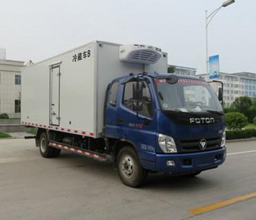 国五福田奥铃排半冷藏车-厢长5.1米