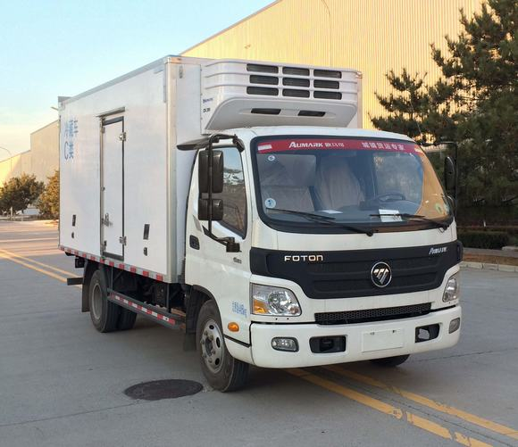 国五福田欧玛可冷藏车-厢长4.1米