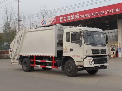 国五东风专底压缩垃圾车