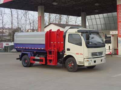 国五东风大多利卡自装卸式垃圾车