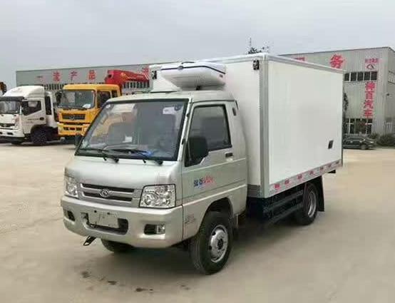福田后双轮冷藏车-厢长2.9米