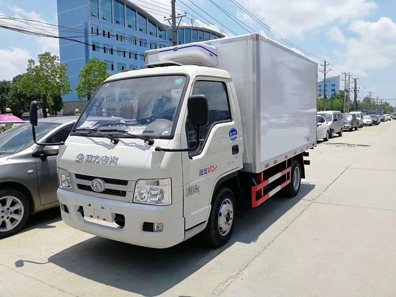 福田后双轮冷藏车-厢长3.1米