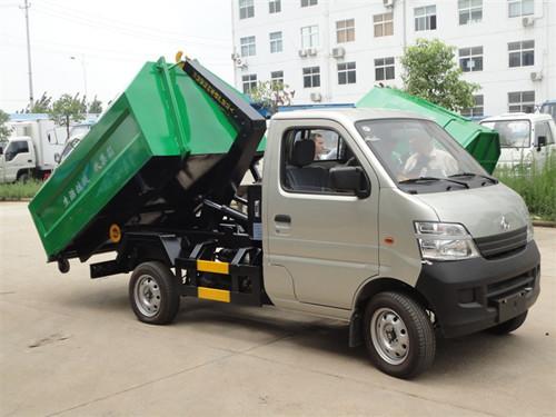 国五长安车厢可卸式垃圾车