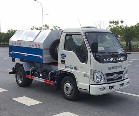 国五福田柴油车厢可卸式垃圾车