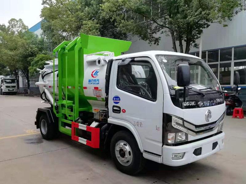 5方餐厨垃圾车|国六东风小多利卡