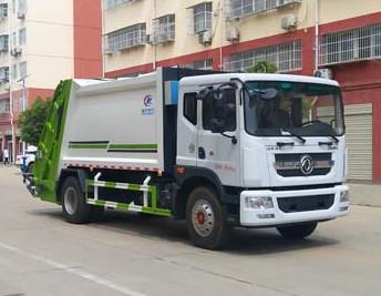 10-12方压缩垃圾车|国六东风D9