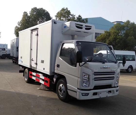 国六江铃冷藏车-厢长4.1米