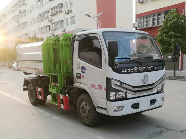 6方挂桶垃圾车|国六东风小多利卡