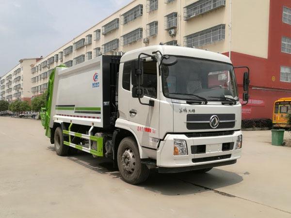 14方压缩垃圾车|国六东风天锦