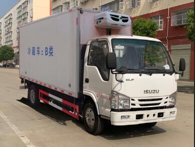 国六五十铃冷藏车-厢长4.1米
