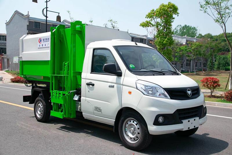 4方挂桶垃圾车|国六福田祥菱