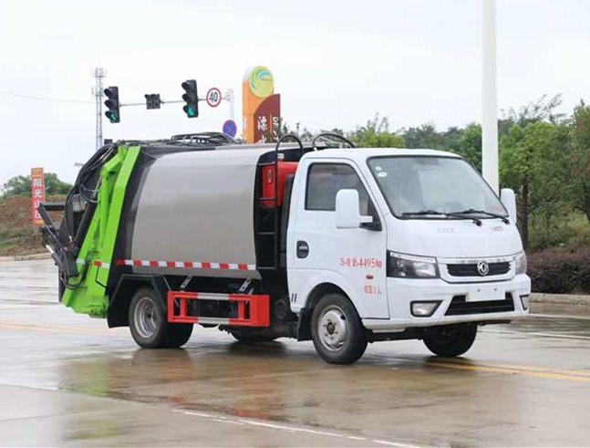 3.5方压缩垃圾车|国六蓝牌东风途逸