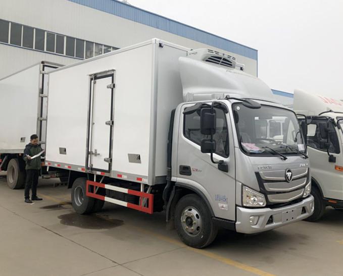 国六福田欧玛可冷藏车-厢长5.1米