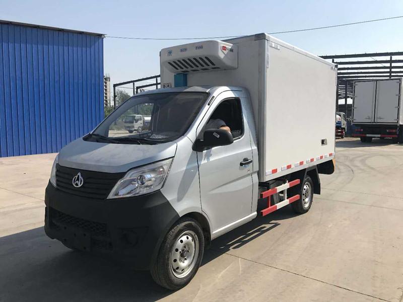 国六长安单轮冷藏车-厢长2.9米